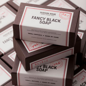 Fancy Black Goat Milk Soap